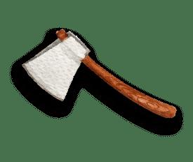 Lancer de haches pour se defouler dans la loire