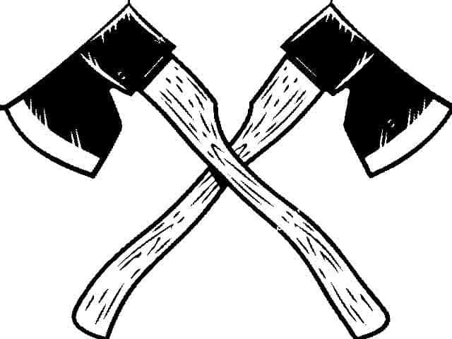 Le lancer de hache provient en grande partie du Canada